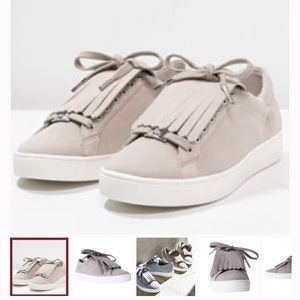 Michael Kors Shoes - Michael Kors Sneakers Lace Up Fringed